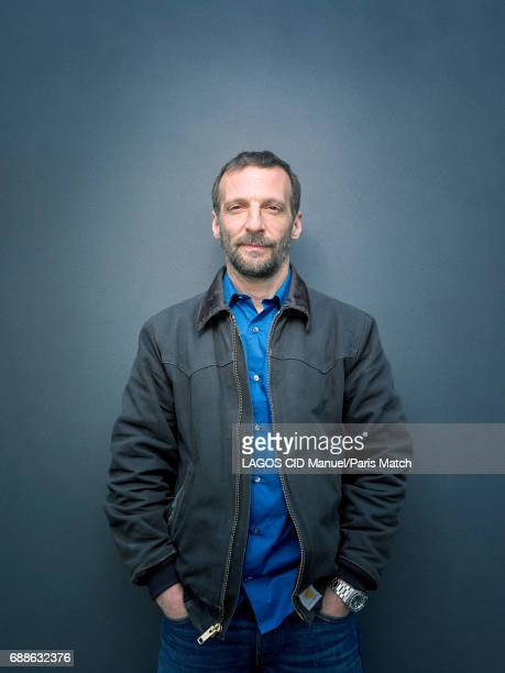 Actor Mathieu Kassovitz is photographed for Paris Match on April 24 2017 in Paris France