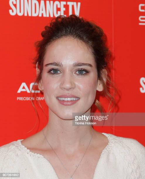 Actor Matilda Anna Ingrid Lutz attends the 'Revenge' Premiere during the 2018 Sundance Film Festival at Egyptian Theatre on January 19 2018 in Park...