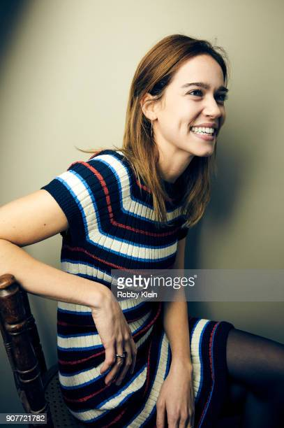 Actor Matlida Lutz from the film 'Revenge' poses for a portrait at the YouTube x Getty Images Portrait Studio at 2018 Sundance Film Festival on...