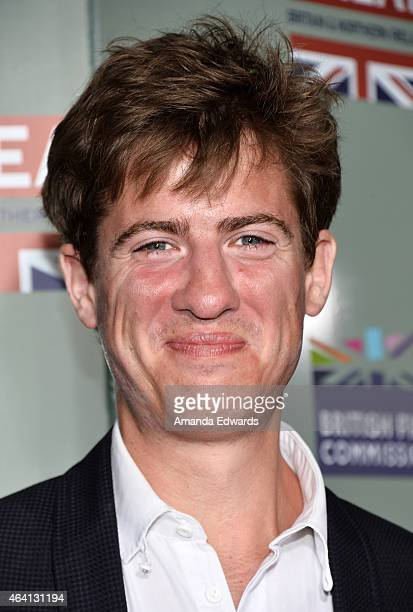 Actor Matt Barber arrives at the GREAT British Film Reception at The London West Hollywood on February 20 2015 in West Hollywood California