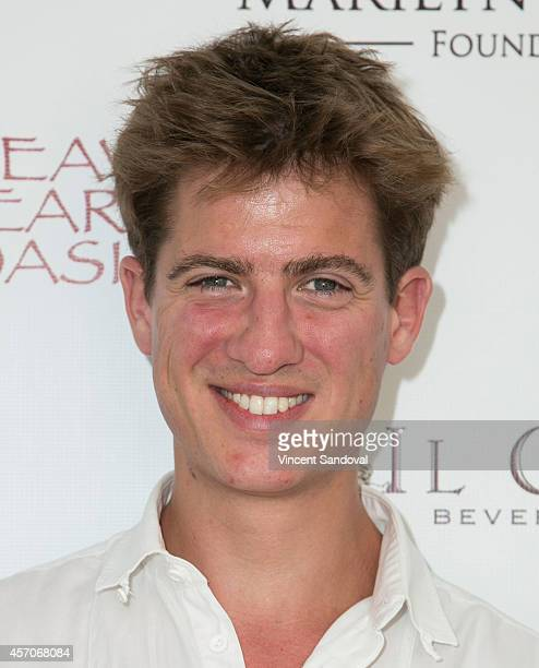 Actor Matt Barber attends the Heaven and Earth Oasis Charity fundraiser at Il Cielo on October 11 2014 in Beverly Hills California