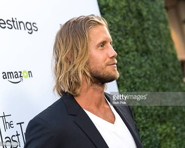 Actor Matt Barr arrives at Sony Pictures Television Social Soiree Featuring Amazon Pilots The Last Tycoon And The Interestings at Sony Pictures...
