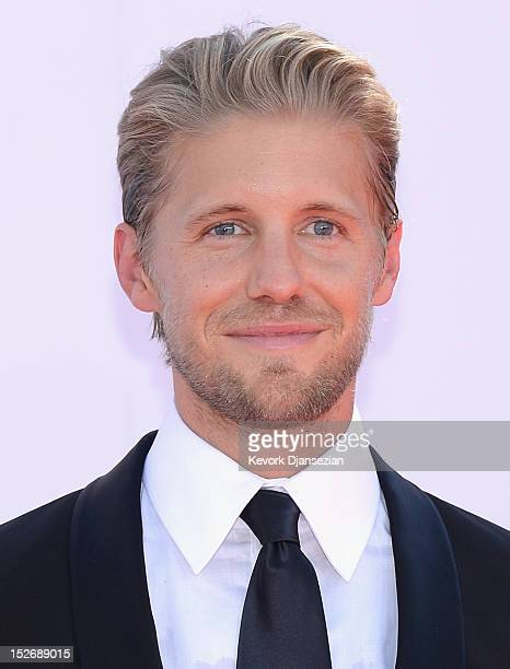 Actor Matt Barr arrives at the 64th Annual Primetime Emmy Awards at Nokia Theatre LA Live on September 23 2012 in Los Angeles California