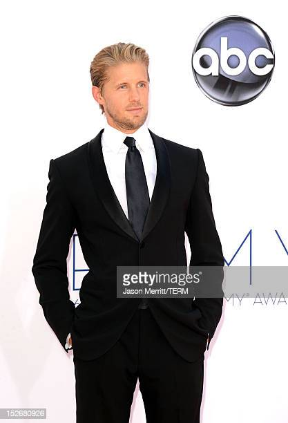 Actor Matt Barr arrives at the 64th Primetime Emmy Awards at Nokia Theatre LA Live on September 23 2012 in Los Angeles California