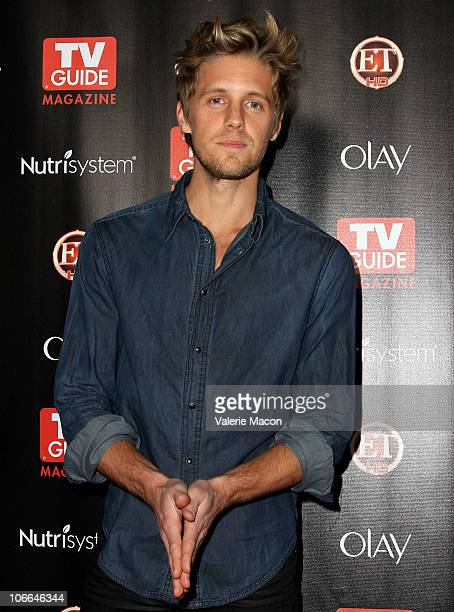 Actor Matt Barr arrives at TV Guide Magazine's 2010 Hot List Party on November 8 2010 in Hollywood California