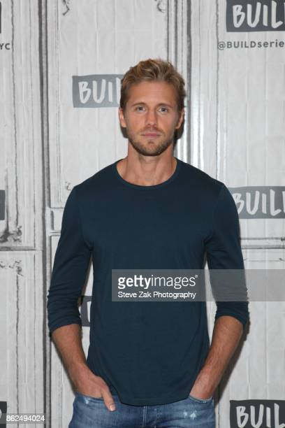 Actor Matt Barr attends Build Series to discuss his show Valor at Build Studio on October 17 2017 in New York City