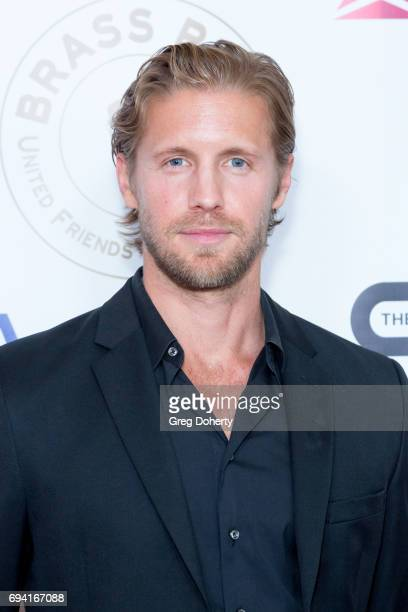 Actor Matt Barr attends the 14th Annual Brass Ring Awards Dinner at The Beverly Hilton Hotel on June 8 2017 in Beverly Hills California