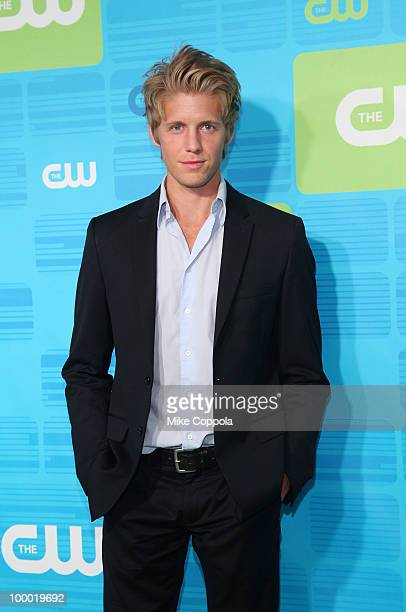 Actor Matt Barr attends the 2010 The CW UpFront at Madison Square Garden on May 20 2010 in New York City