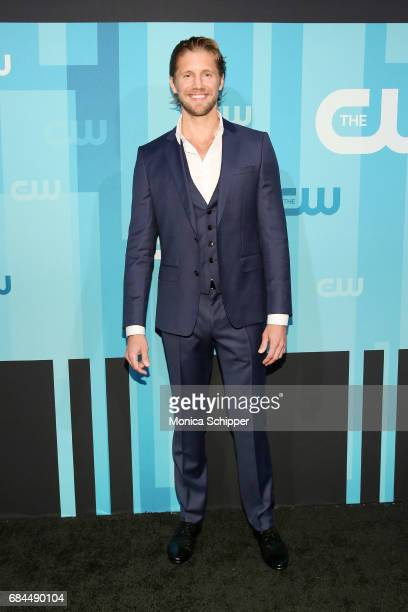 Actor Matt Barr attends the 2017 CW Upfront on May 18 2017 in New York City