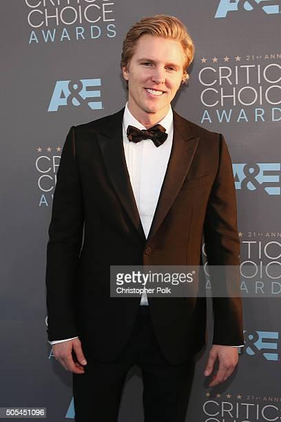 Actor Matt Barr attends the 21st Annual Critics' Choice Awards at Barker Hangar on January 17 2016 in Santa Monica California