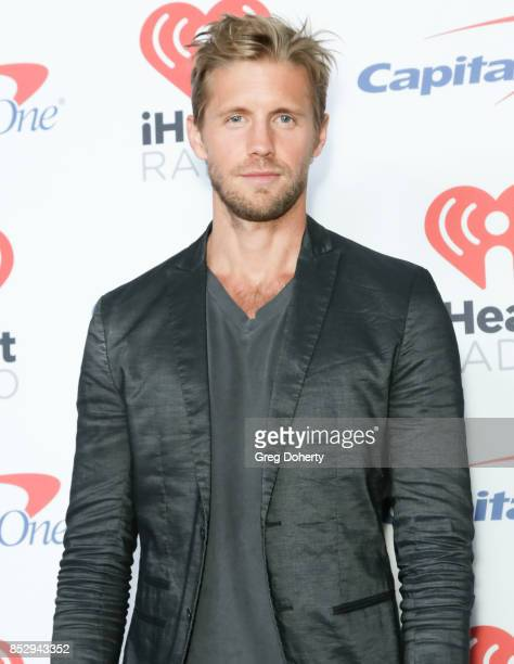 Actor Matt Barr attends the 2nd Night of the 2017 iHeartRadio Music Festival at TMobile Arena on September 23 2017 in Las Vegas Nevada