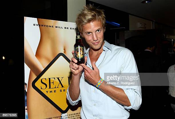 Actor Matt Barr attends the after party for the premiere of Sex Ed The Series held at Laemmle Sunset 5 Theatre on August 2 2009 in West Hollywood...