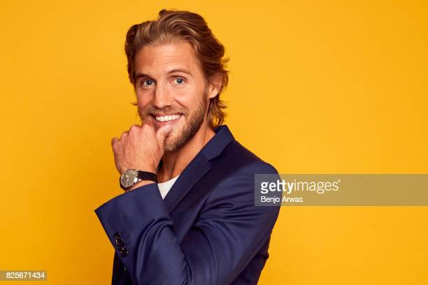Actor Matt Barr of CW's 'Valor' poses for a portrait during the 2017 Summer Television Critics Association Press Tour at The Beverly Hilton Hotel on...