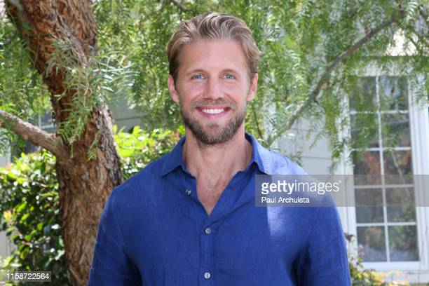 Actor Matt Barr visits Hallmark's Home Family at Universal Studios Hollywood on June 27 2019 in Universal City California