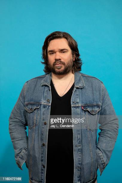 Actor Matt Berry of 'What We Do in the Shadows' is photographed for Los Angeles Times at Comic-Con International on July 20, 2019 in San Diego,...
