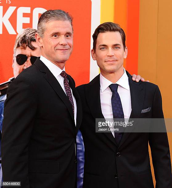 Actor Matt Bomer and husband Simon Halls attend the premiere of The Nice Guys at TCL Chinese Theatre on May 10 2016 in Hollywood California