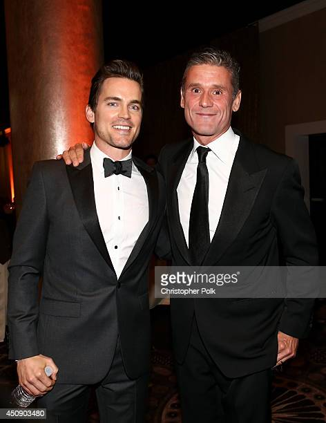Actor Matt Bomer and Simon Halls attend the 4th Annual Critics' Choice Television Awards at The Beverly Hilton Hotel on June 19 2014 in Beverly Hills...