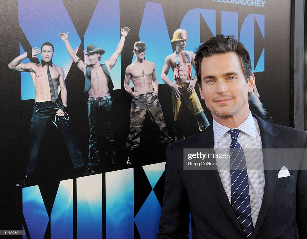 Actor Matt Bomer arrives at the 2012 Los Angeles Film Festival closing night gala premiere of 'Magic Mike' at Regal Cinemas L.A. Live on June 24, 2012 in Los Angeles, California.