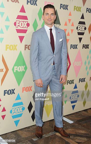 Actor Matt Bomer arrives at the 2015 Summer TCA Tour FOX AllStar Party at Soho House on August 6 2015 in West Hollywood California
