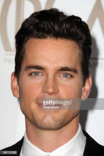 Actor Matt Bomer arrives at the 24th Annual Producers Guild Awards held at The Beverly Hilton Hotel on January 26 2013 in Beverly Hills California