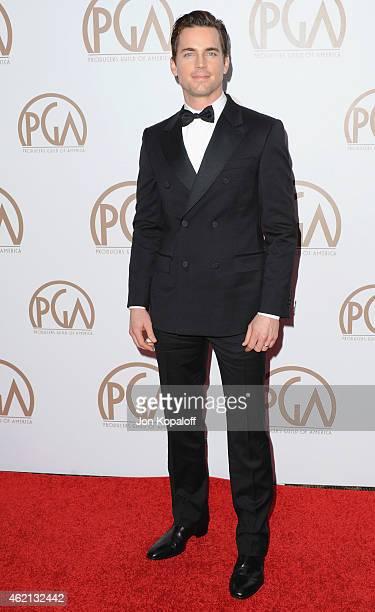 Actor Matt Bomer arrives at the 26th Annual PGA Awards at the Hyatt Regency Century Plaza on January 24 2015 in Los Angeles California