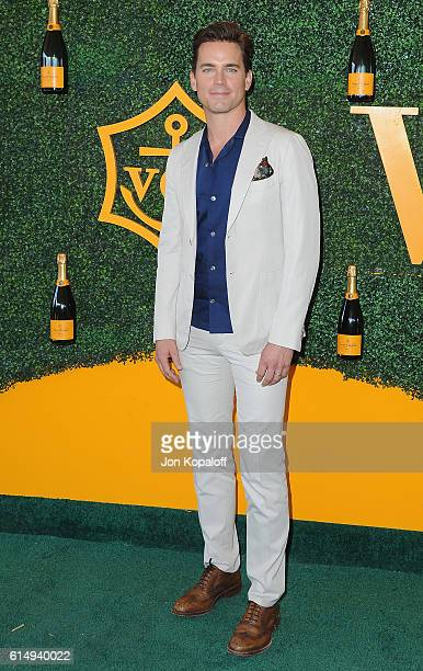 Actor Matt Bomer arrives at the 7th Annual Veuve Clicquot Polo Classic at Will Rogers State Historic Park on October 15 2016 in Pacific Palisades...
