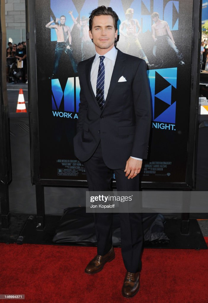 Actor Matt Bomer arrives at the 'Magic Mike' Closing Night Premiere at the 2012 Los Angeles Film Festival at Regal Cinemas L.A. Live on June 24, 2012 in Los Angeles, California.