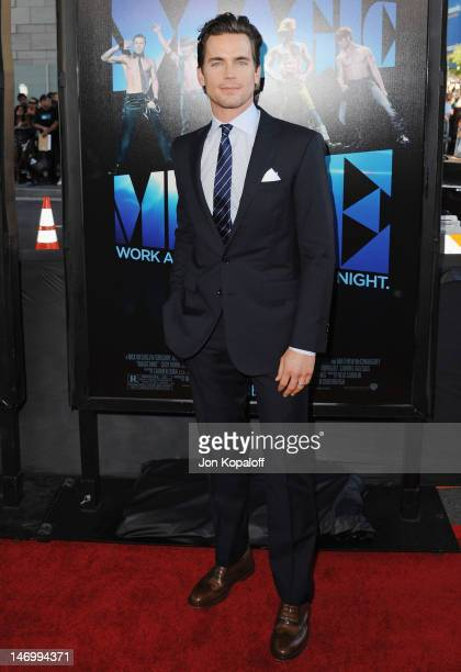 """Actor Matt Bomer arrives at the """"Magic Mike"""" Closing Night Premiere at the 2012 Los Angeles Film Festival at Regal Cinemas L.A. Live on June 24, 2012..."""