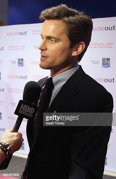 "Actor Matt Bomer arrives at ""The Normal Heart"" Photo Call at the Inside Out Film Festival on May 23, 2014 in Toronto, Canada."