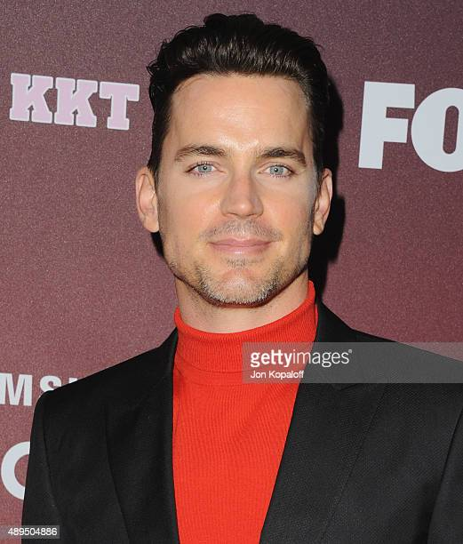 Actor Matt Bomer arrives at the Premiere Of FOX TV's 'Scream Queens' at The Wilshire Ebell Theatre on September 21 2015 in Los Angeles California