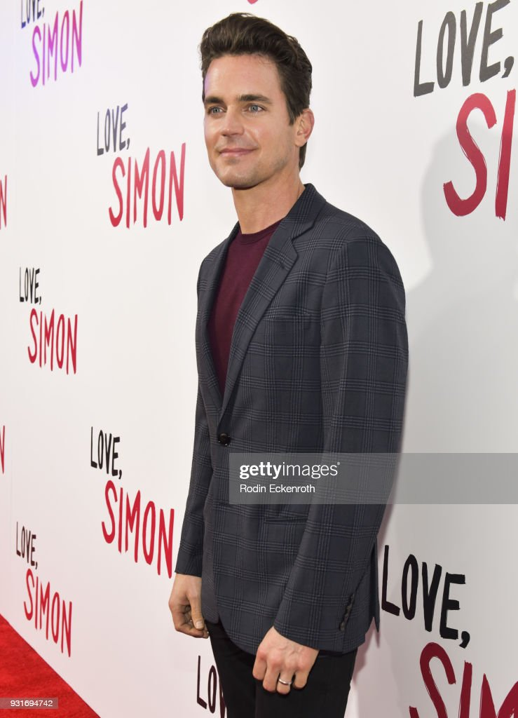 Actor Matt Bomer attends a special screening of 20th Century Fox's 'Love, Simon' at Westfield Century City on March 13, 2018 in Los Angeles, California.