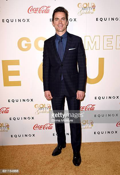 Actor Matt Bomer attends Life is Good at GOLD MEETS GOLDEN Event at Equinox on January 7 2017 in Los Angeles California