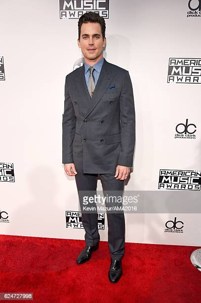 Actor Matt Bomer attends the 2016 American Music Awards at Microsoft Theater on November 20 2016 in Los Angeles California