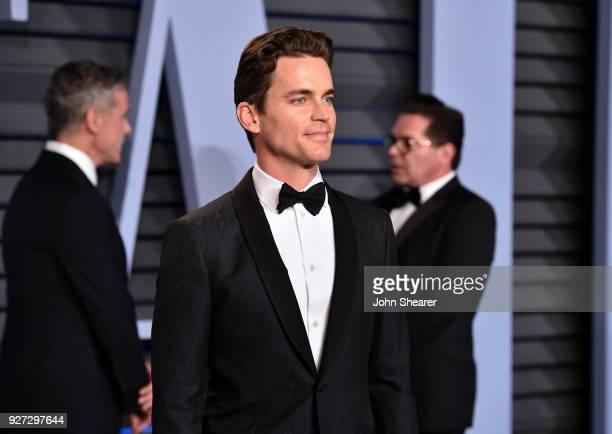 Actor Matt Bomer attends the 2018 Vanity Fair Oscar Party hosted by Radhika Jones at Wallis Annenberg Center for the Performing Arts on March 4 2018...