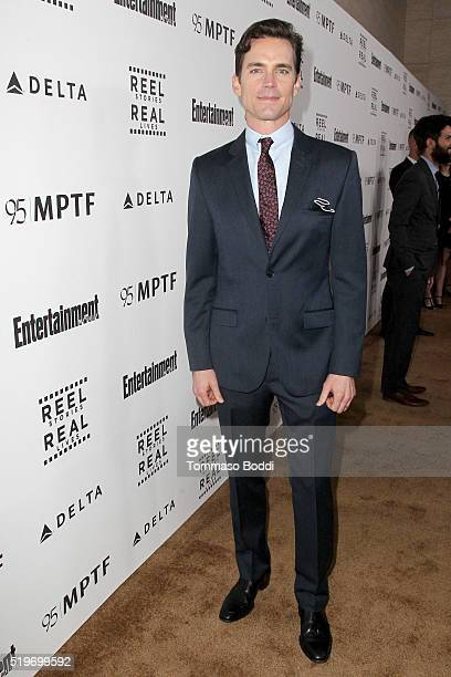 Actor Matt Bomer attends the 5th Annual Reel Stories Real Lives event benefiting MPTF at Milk Studios on April 7 2016 in Hollywood California
