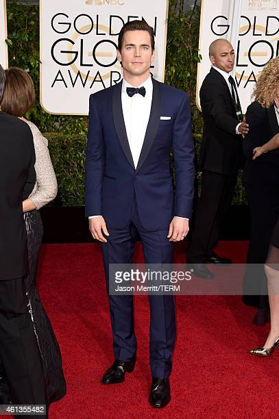 Actor Matt Bomer attends the 72nd Annual Golden Globe Awards at The Beverly Hilton Hotel on January 11 2015 in Beverly Hills California