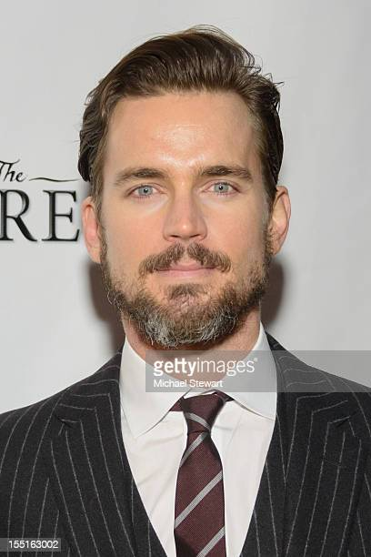 Actor Matt Bomer attends the Broadway revival opening night of 'The Heiress' at the Walter Kerr Theatre on November 1 2012 in New York City