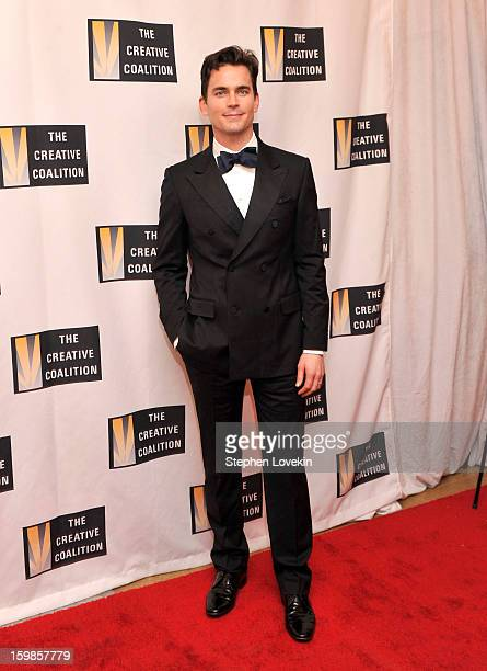 Actor Matt Bomer attends The Creative Coalition's 2013 Inaugural Ball at the Harman Center for the Arts on January 21 2013 in Washington United States