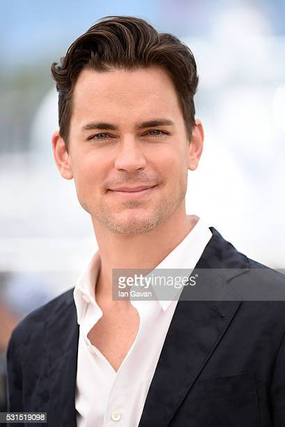 Actor Matt Bomer attends 'The Nice Guys' photocall during the 69th annual Cannes Film Festival at the Palais des Festivals on May 15 2016 in Cannes...