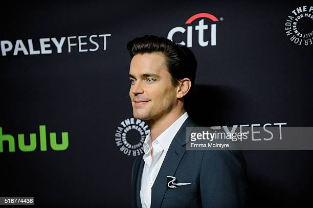 Actor Matt Bomer attends The Paley Center For Media's 33rd Annual PaleyFest Los Angeles Closing Night Presentation 'American Horror Story Hotel' at...