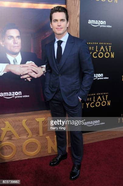 Actor Matt Bomer attends the premiere of Amazon Studios' 'The Last Tycoon' at the Harmony Gold Preview House and Theater on July 27, 2017 in...