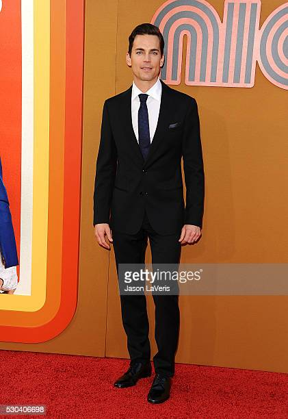 Actor Matt Bomer attends the premiere of The Nice Guys at TCL Chinese Theatre on May 10 2016 in Hollywood California