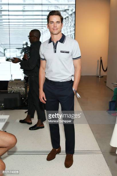 Actor Matt Bomer attends the Todd Snyder fashion show during NYFW Men's July 2017 at Cadillac House on July 10 2017 in New York City