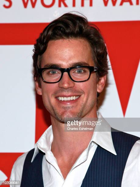 Actor Matt Bomer attends the TV Guide party to celebrate The Power List and the 3000th issue at GILT at The New York Palace Hotel on June 14 2010 in...