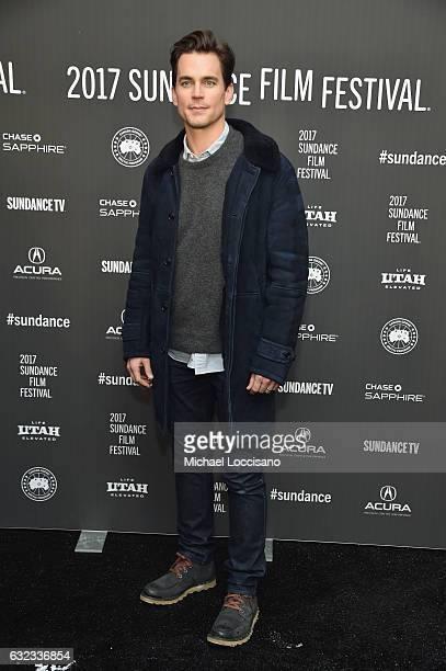 Actor Matt Bomer attends the 'Walking Out' premiere on day 3 of the 2017 Sundance Film Festival at Library Center Theater on January 21 2017 in Park...