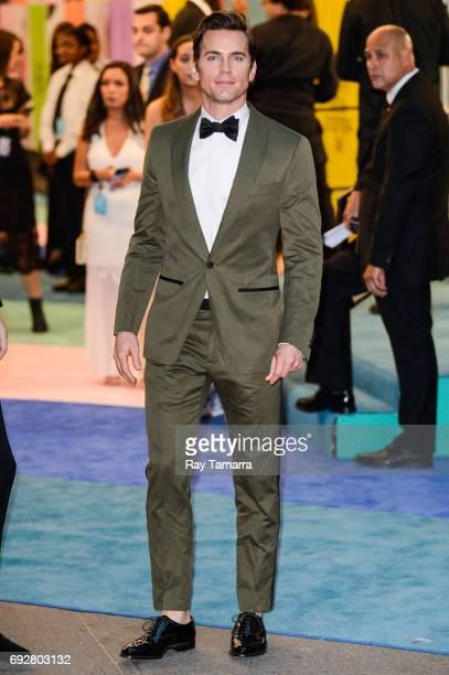 Actor Matt Bomer enters the CFDA Fashion Awards at Hammerstein Ballroom on June 5 2017 in New York City