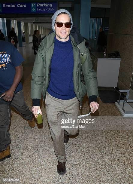 Actor Matt Bomer is seen on January 22 2017 in Salt Lake City Utah