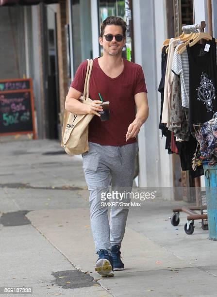 Actor Matt Bomer is seen on November 1 2017 in Los Angeles CA
