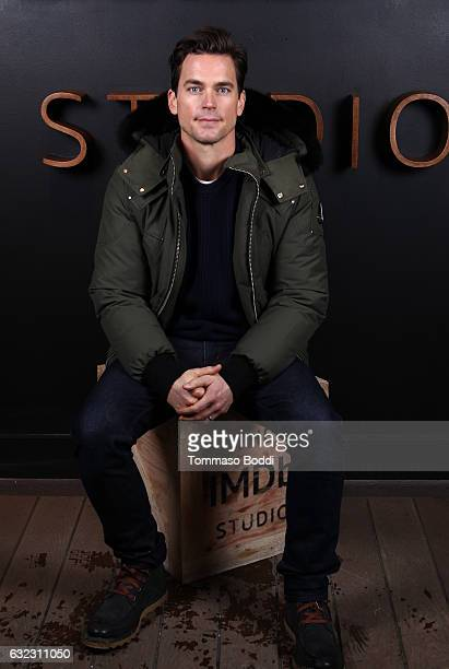Actor Matt Bomer of 'Walking Out' attends The IMDb Studio featuring the Filmmaker Discovery Lounge presented by Amazon Video Direct Day Two during...