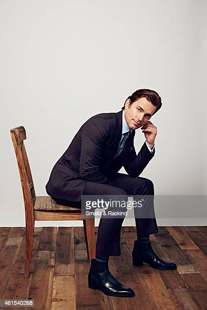 Actor Matt Bomer poses during the The 41st Annual People's Choice Awards at Nokia Theatre LA Live on January 7 2015 in Los Angeles California